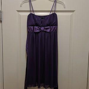 Ruby Rox purple bow party dress